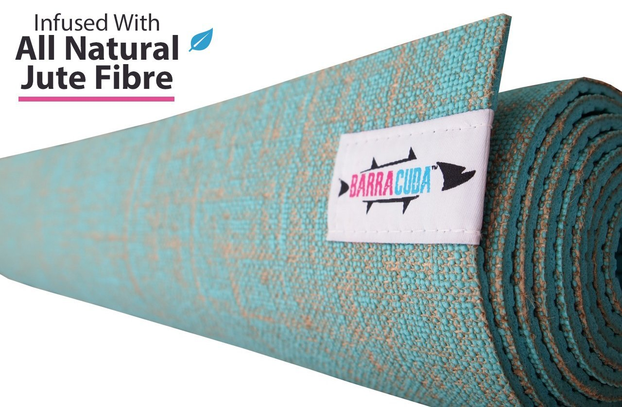 Buy Hot Yoga Mat By Barracuda Infused With All Natural