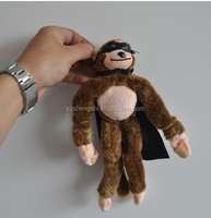 Wholesale cheap cute pig slingshot flying screaming monkey bird chicken plush toy fashion soft stuffed plush monkey