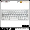 2.4g scissor switch 78 keys wireless bluetooth keyboard for ipad ihone