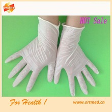 Cheap medical sterile disposable latex gloves wholesale manufacturer