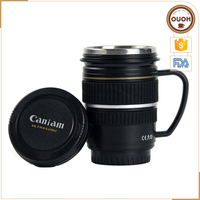 Camera Lens Coffee Mug with Handle Household Handicraft
