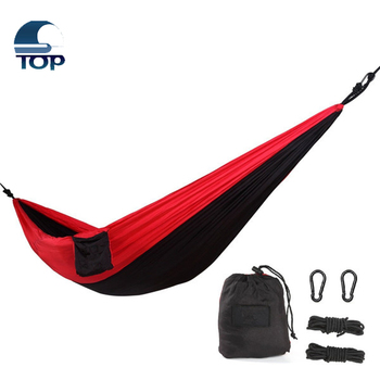 Parachute Portable Camping Hammocks With Hanging Rope And