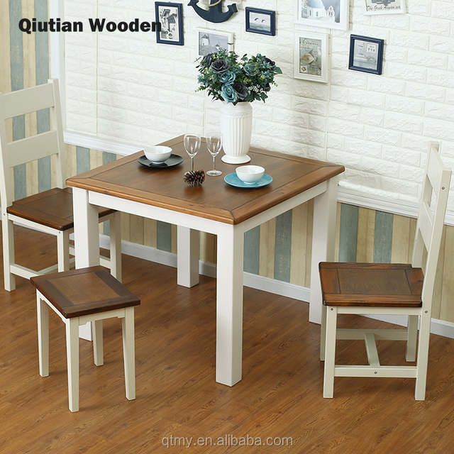 dining table wood sets solid wood square table dining room furniture