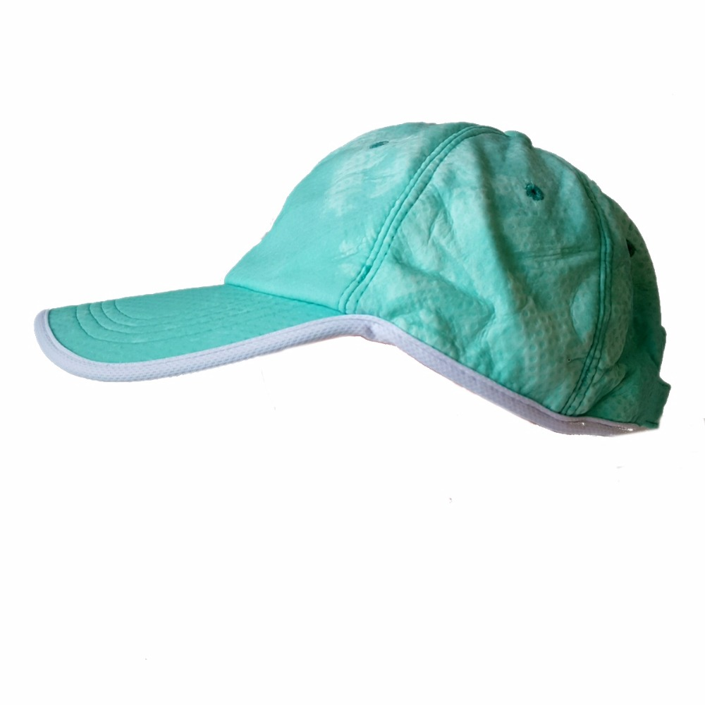 The green <strong>hat</strong>/cap that can not be sold in China is cool cooling and clear with PVA cooling cloth matiral