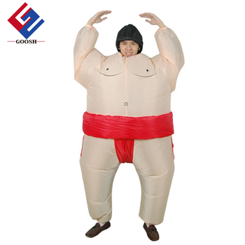 Sumo Inflatable Costume Blow Up Inflatable Costumes Dress Up Suit