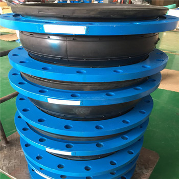 EPDM/NBR flanged connection single ball rubber joint