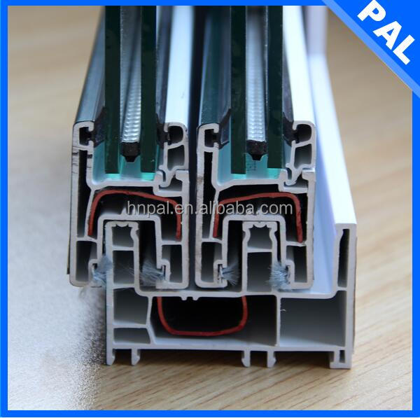 Energy saving window louver hardware With triple glazing window