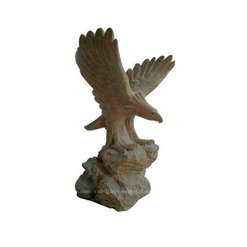 High Quality Hand Carved stone product marble eagle statue