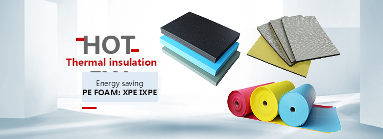 Acoustic Materials Wpc Foam Board Flooring & Accessories Underlay  Ixpe Foam Roll