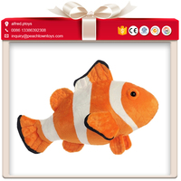 Fast shipping reliable stuffed clown fish plush toy