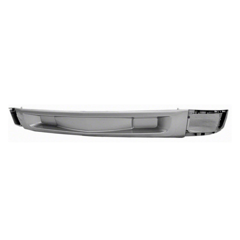 Silver Front Bumper Deflector for 12-13 Chevrolet Silverado 1500