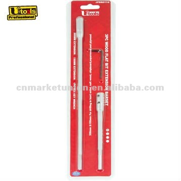 3PC Wood Flat Bit Extention