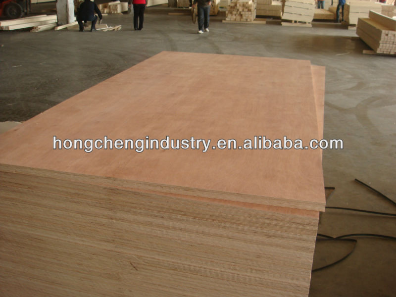 Keruing gurjan plywood with hardwood core and birch core for furniture