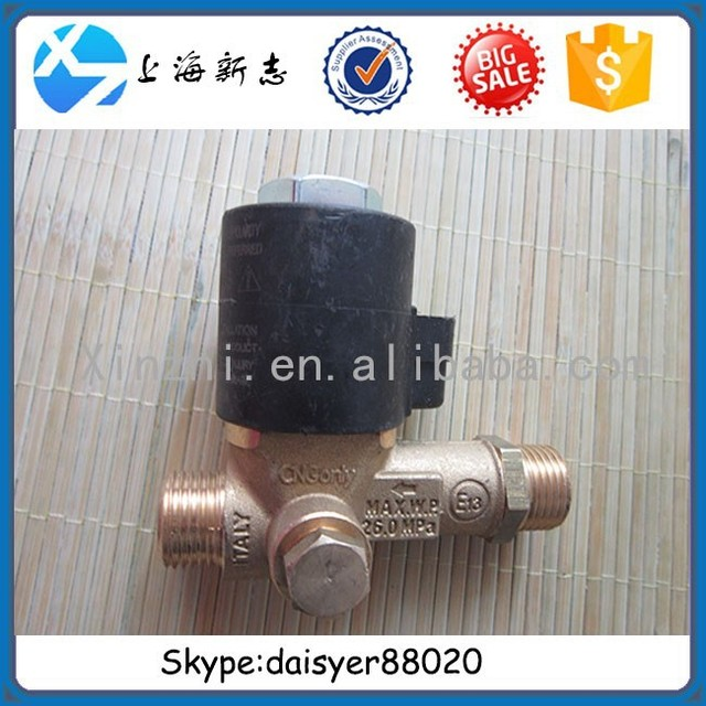 High quality Sinotruk HOWO and STEYR heavy truck spare parts High-pressure solenoid valve WG9116550114