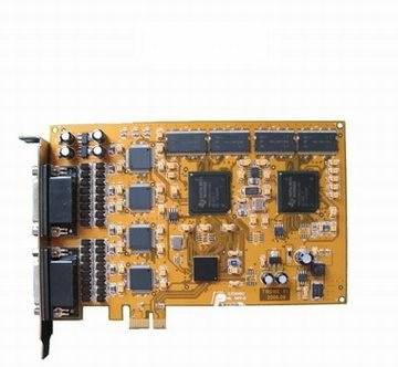 4, 8, 16, 32, 64 Channel Video/Audio Real Time Hardware Compression DVR card, PCI-E CCTV video capture card