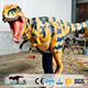 OA2813 high quality lifelike raptor suit walking dinosaur costume