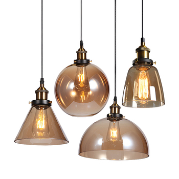 China pendent lobby metal glass lampshade kitchen modern chandelier pendant light