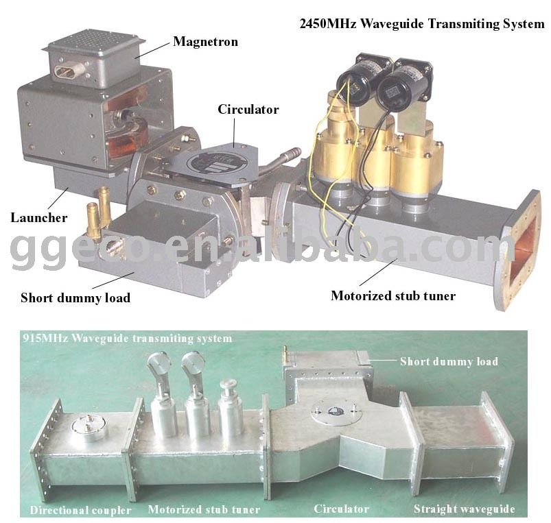 2 45ghz 915mhz Microwave Transmitting Waveguide Component 2450mhz 915mhzmicrowave System Product