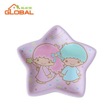 Cute star shape colorful baby plastic plates for kids  sc 1 st  Alibaba : cute plastic plates - pezcame.com