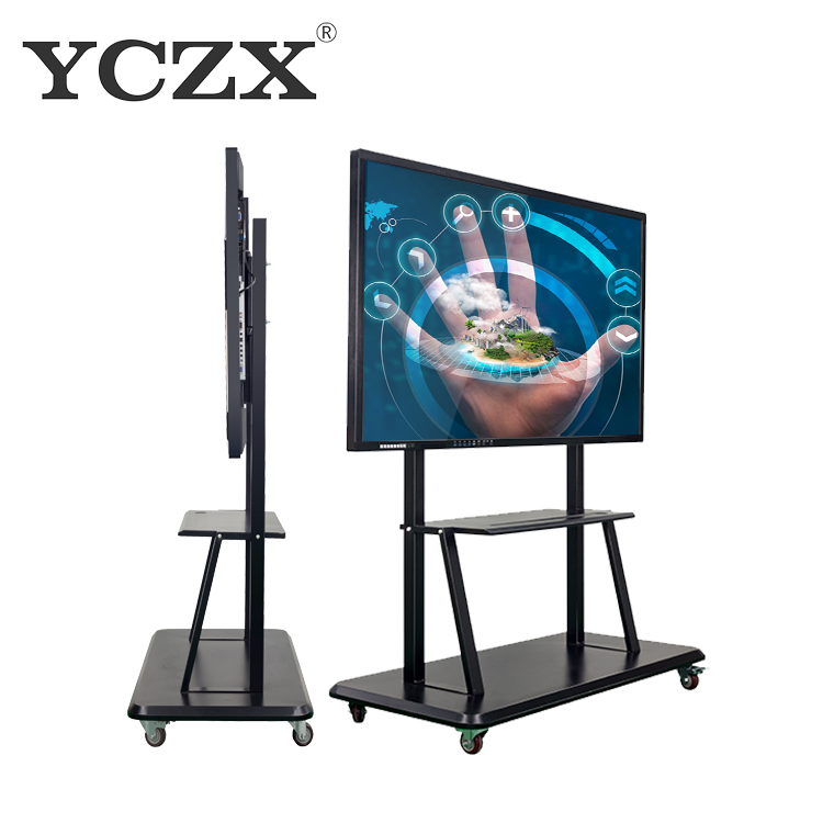 86 Inch touch screen pc <strong>monitor</strong> For School Teaching New Equipment for Teacher Infrared Interactive android PC