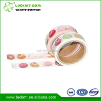 Custom Made Printed Japanese Die Cut Washi Adhesive Tape