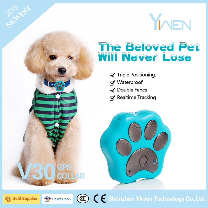 Yiwen GPS Collar 3G WCDMA GV30 for Anima, Pet such as Dog, Cat, Cow