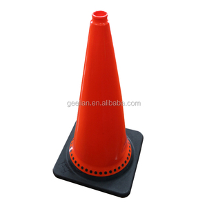 Popular sells party decoration inflatable traffic cone with led light