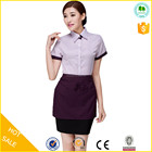 Cheap design best hotel uniforms,reception uniform hotel,western hotel uniform