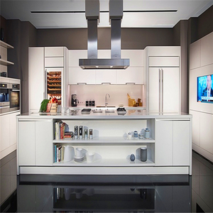 Modern cheap price kitchen cabinet made in china for small kitchen designs