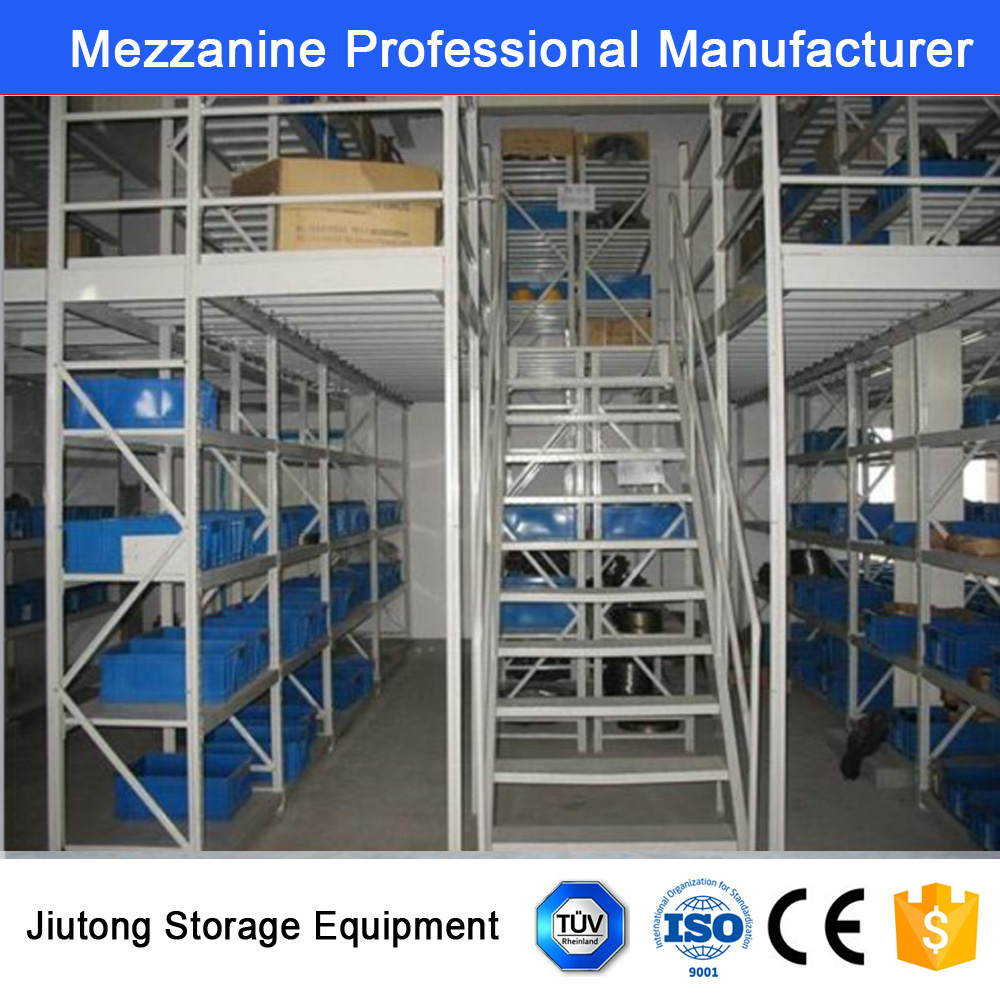 CE Warehouse Metal Mezzanine Storage Equipment