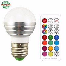 Timing LED bulb lamp double memory and color changing lamp wall switch RGB+cool light