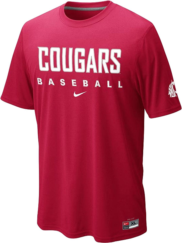 best website 7824b 88fbb Nike Washington State Cougars Baseball Practice Dri-FIT Cotton T-Shirt