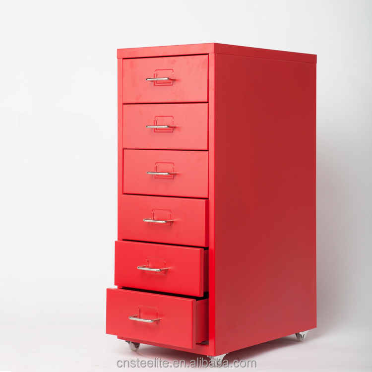 Luoyang Metal 6 Drawer Office Furniture