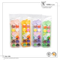 Wholesale High Quality Supplier 12 Colors Dry Watercolor Paint Set For Kids