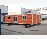 Luxury easy china real estate 40ft Trade Assurance container house