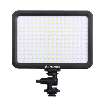 YELANGU With Lamp Color Temp Adjustable LED Video Light Panel Light for Nikon Pent Video ax Canon 5D Mark II Camcorders