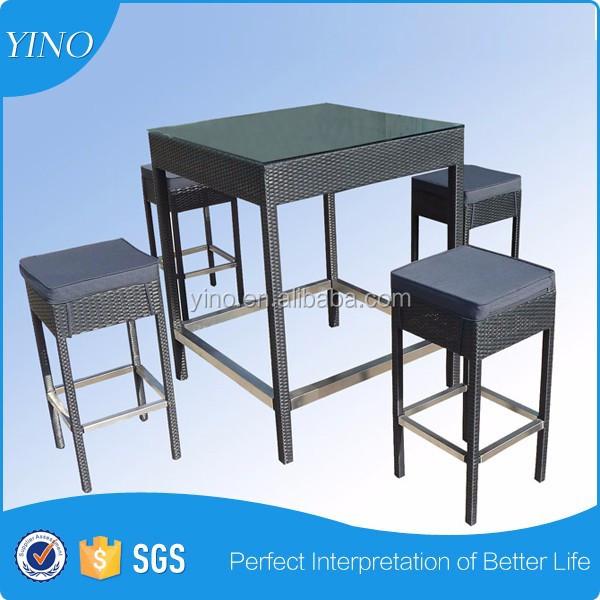 Finden Sie Hohe Qualität Bar Hohen Tisch Rattan Hersteller und Bar ...