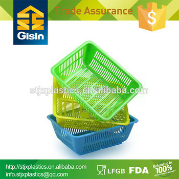 cheap plastic vegetable basket sale directly