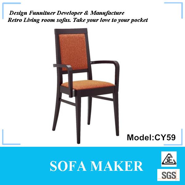 Modeled ASH wood chair furniture for wholesale CY59