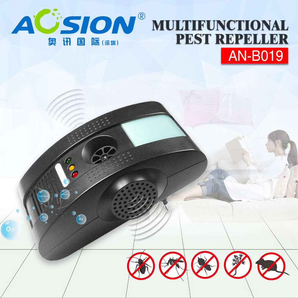 Aosion ultrasonic pest control products to repel cockroach,mice,spider,fleas,bugs