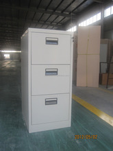 Professional supplier Office 3 Drawer File locker / Modern Design Steel Stackable Drawer Lockers
