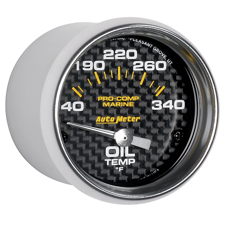 Marine Carbon Fiber GPS Speedometer 5 Auto Meter AutoMeter 200646-40 Gauge 120Mph