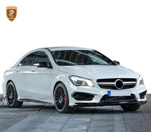 cla class c117 general automobile car upgrade amg super body kit with PP material