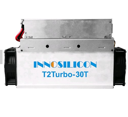 30T Hashrate Innosilicon miner T2T in stock to sale for bitcoin ETH LTC BCH coin mine pool