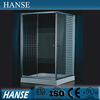 HS-SR805 prefab luxury cheap straight sliding acrylic shower enclosures