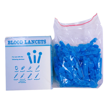 Disposable Sterile Safety Blood Lancet Plastic Twist Top Type