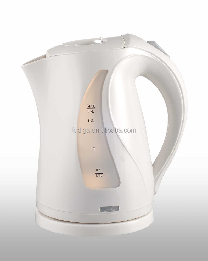 Safe water kettle ordless electric kettle plastic 2200W