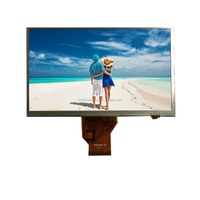 7 inch tft monitor with resistive touch panel 800x480, 50 pins connector
