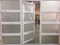 Glass Garage Doors with Pedestrian Door/Pass Door Kits