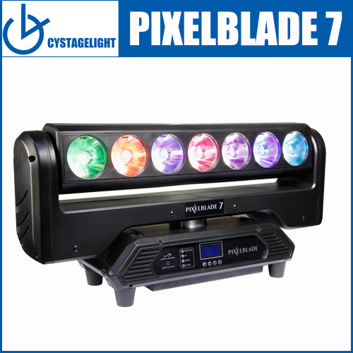 Led Pixelblade 7pcs 15 Watts Beam Moving Head Light For Discos, Clubs, Bars, Parties, Mobile DJ And Other Places